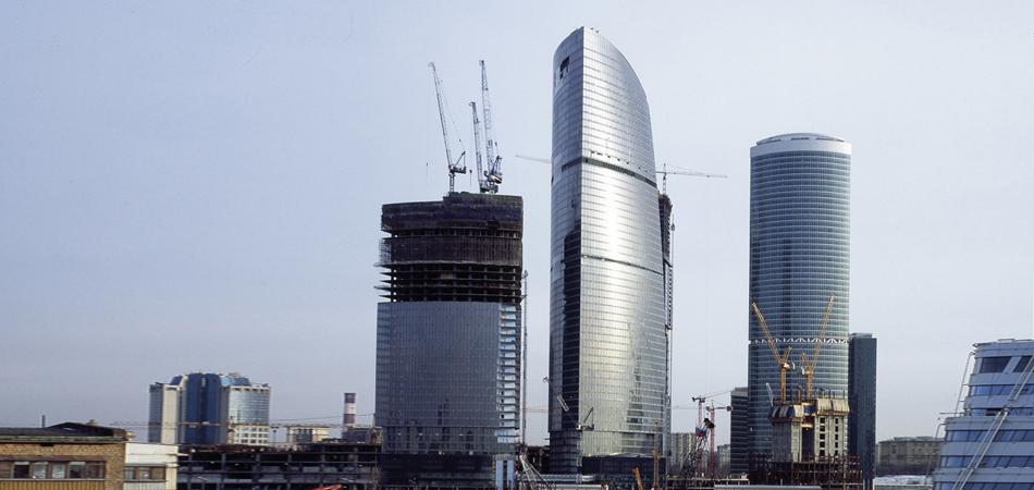 Federation Tower Moskau
