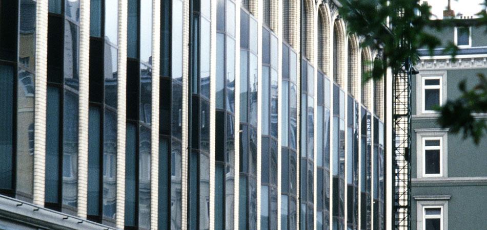 Kaufmannshaus Hamburg außen