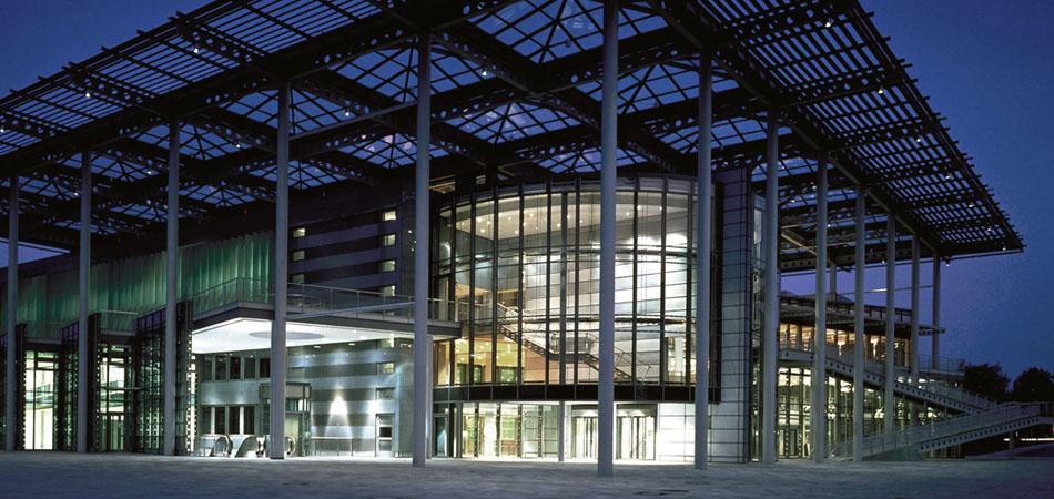 Kunstmuseum Wolfsburg nachts