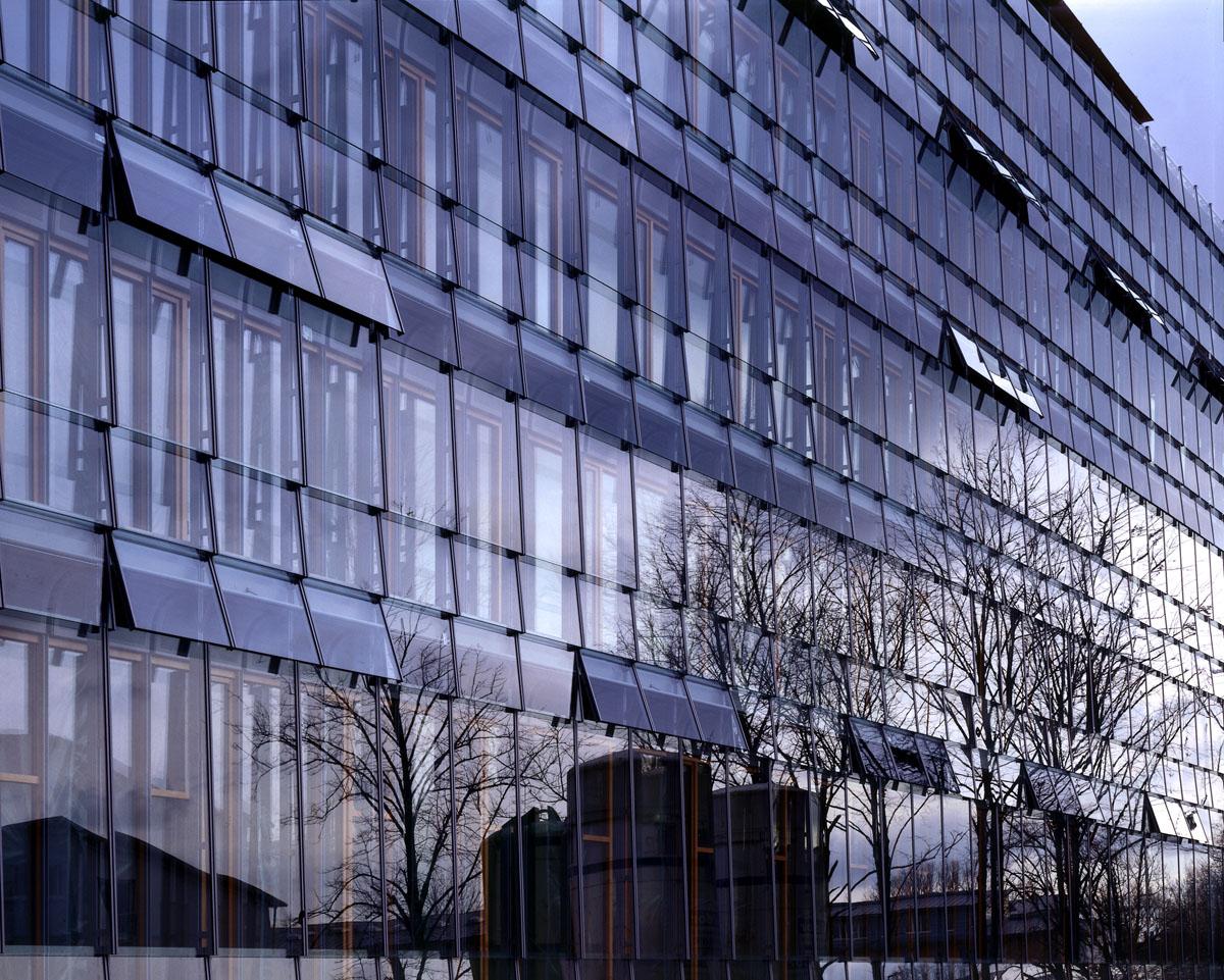 Landesversicherungsanstalt Fassade