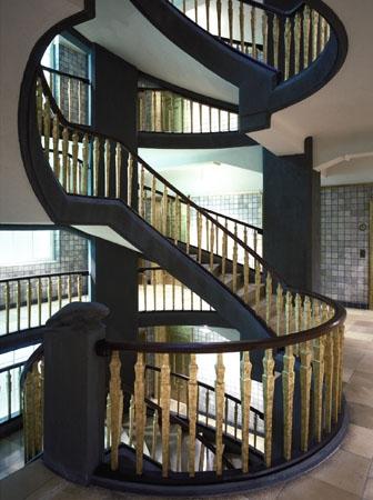Messberghof Hamburg Treppe