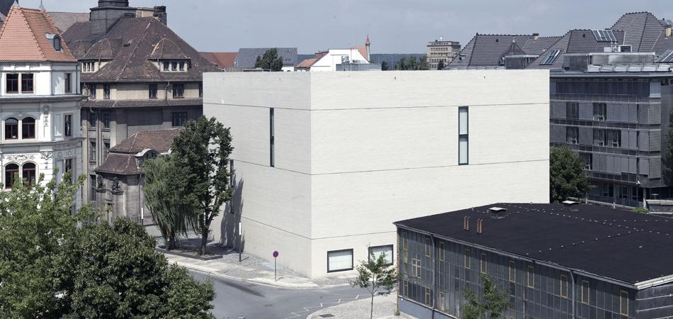 Sächsisches Hauptstaatsarchiv Neubau Außenansichten