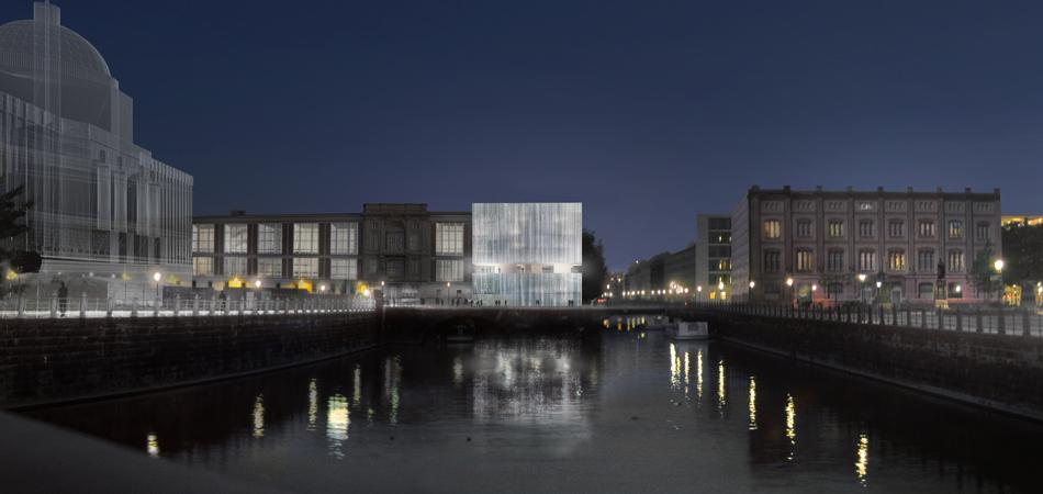 ThyssenKrupp Haus Berlin nachts