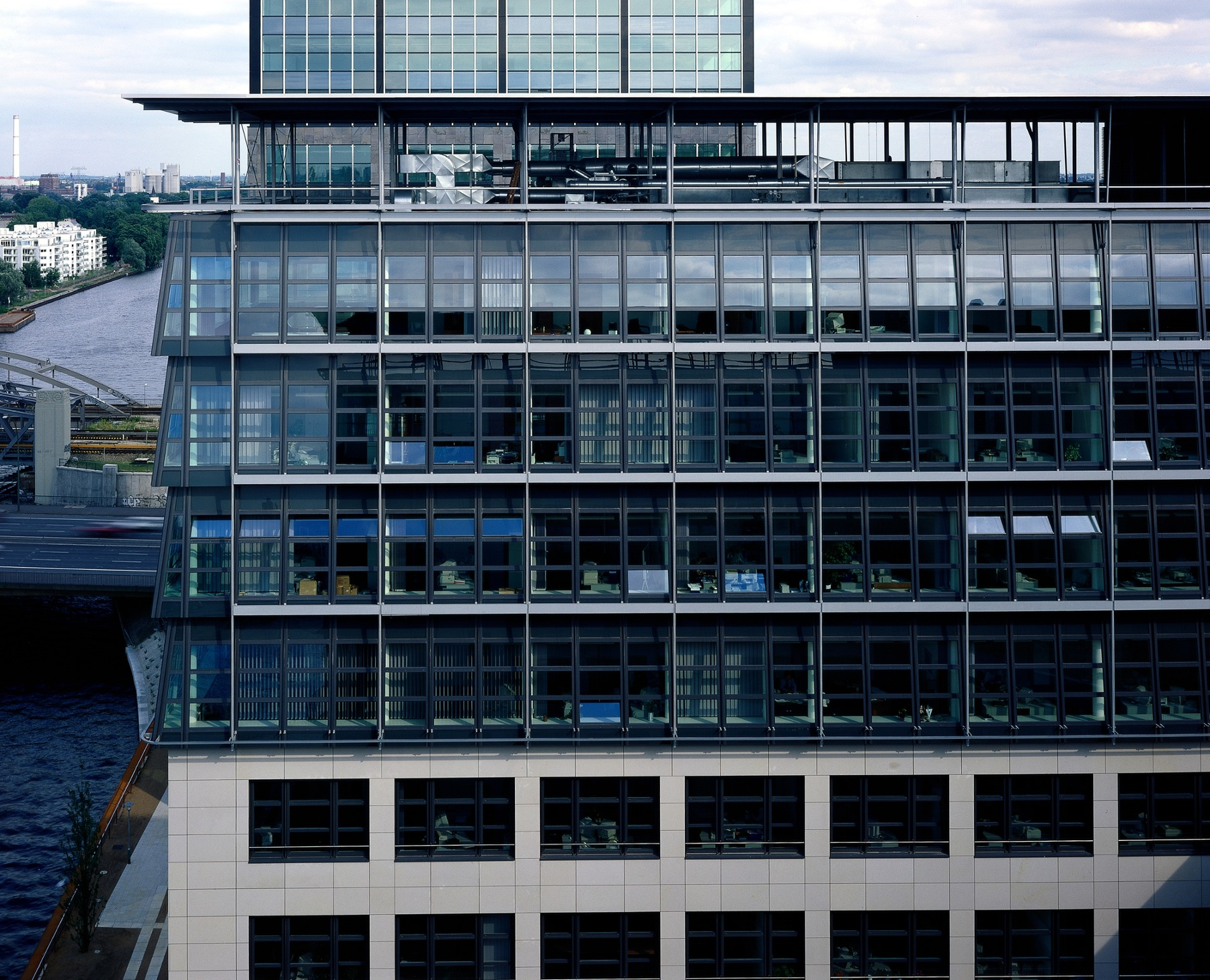 Treptowers Fassadendetail