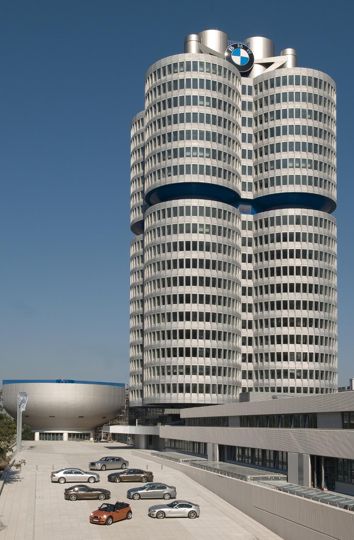 BMW Hochhaus Areal München
