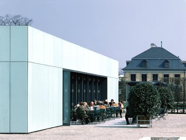 Café Herrenhäuser Gärten Hannover außen