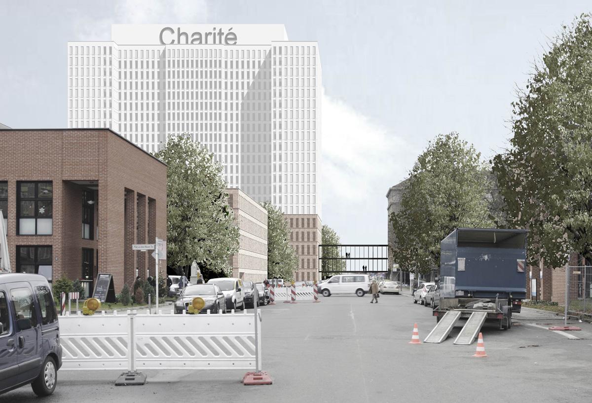 Charité Berlin Entwurf