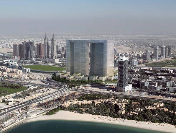 Dubai Pearl at day