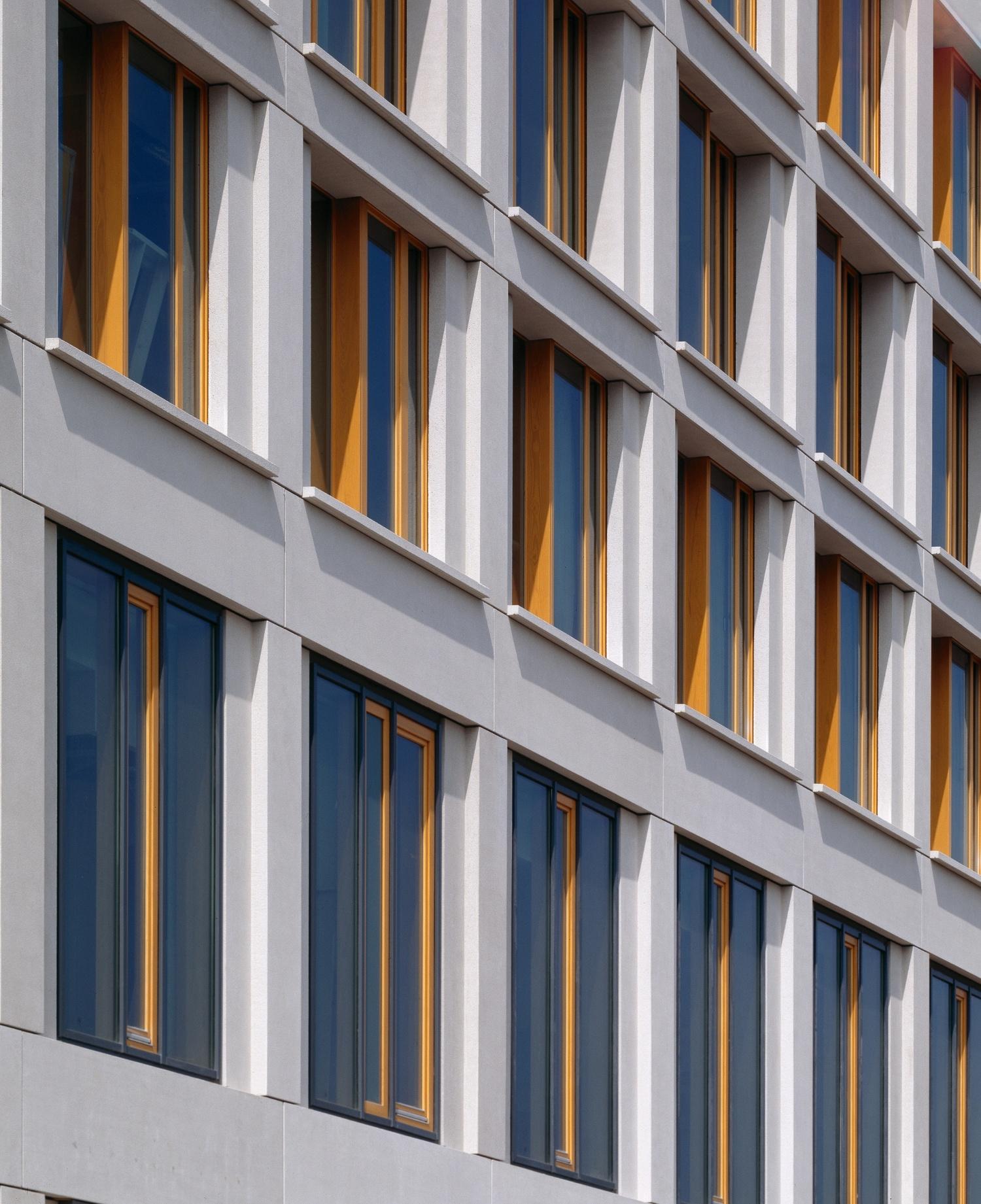 Kongresshotel Fassade Detail