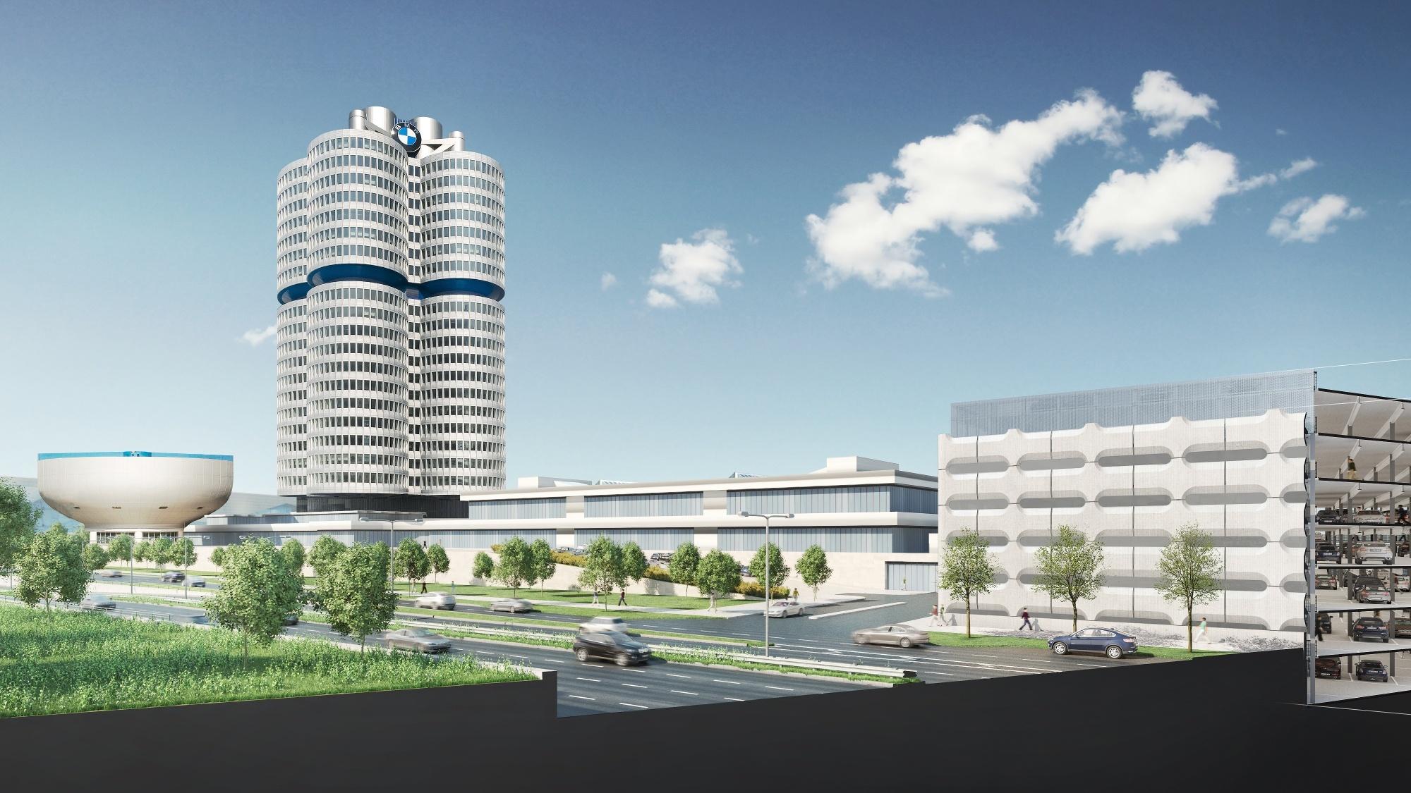 Revitalisierung BMW Parkhaus München