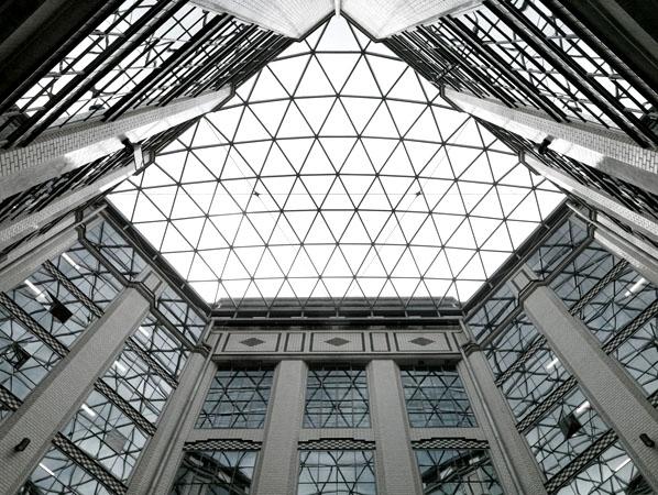 Staatsarchiv Dresden Dach