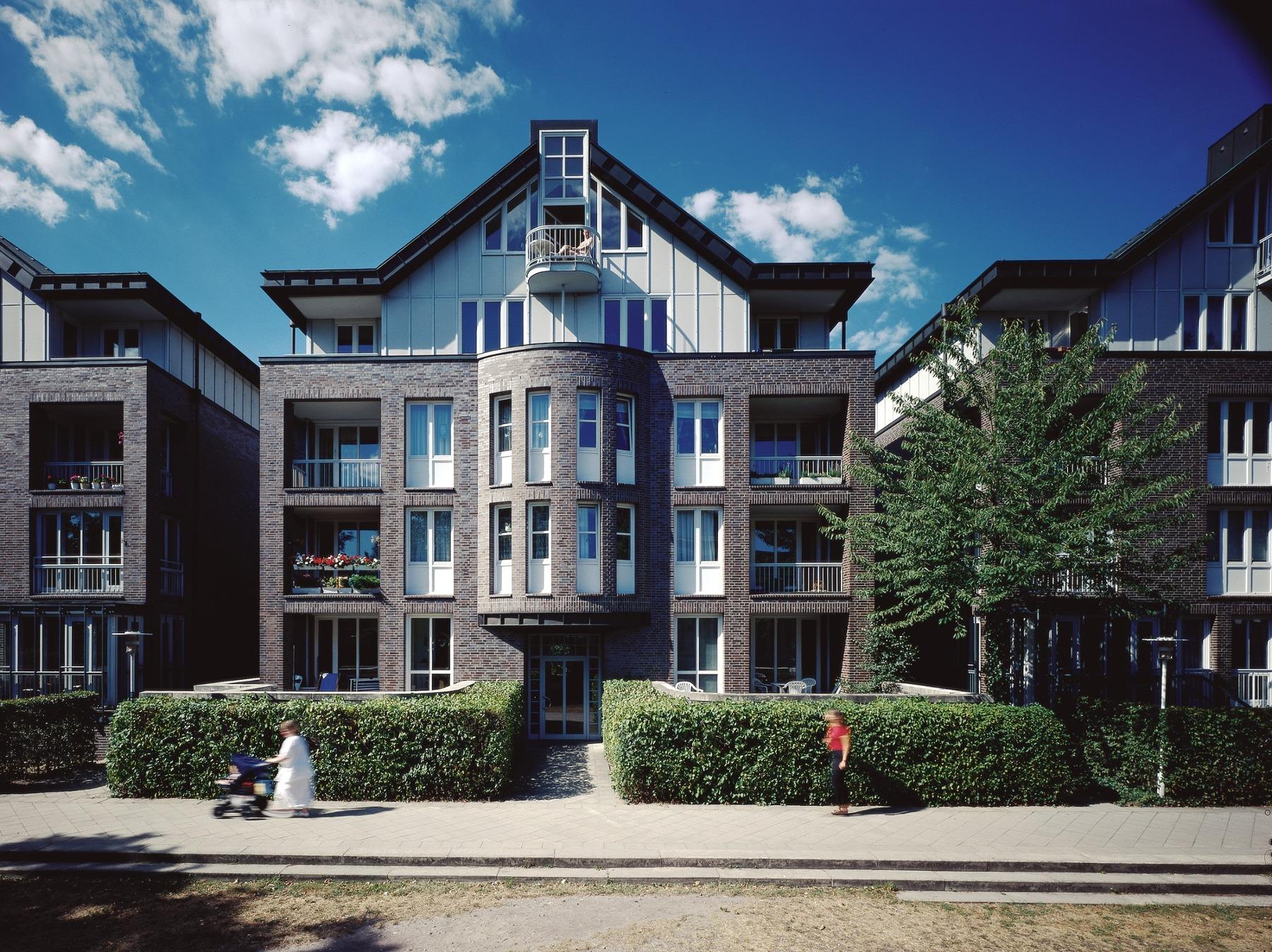 Wohnbebauung Winterhuder Fährhaus Hamburg