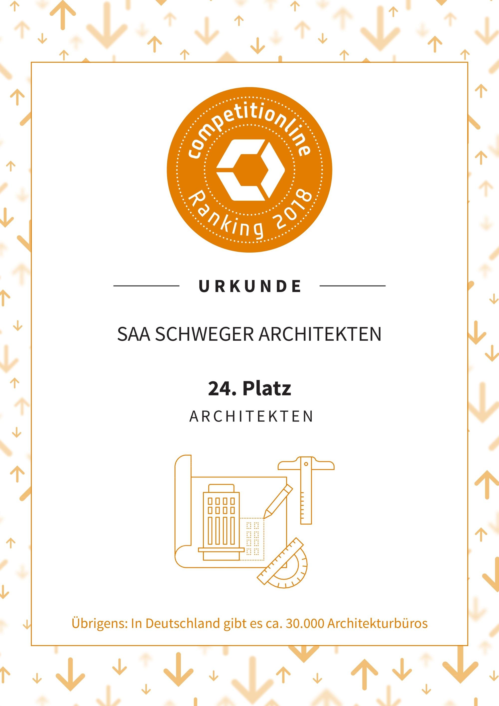 schweger architekten competitionline urkunde