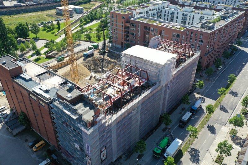 Shanghaiallee Hamburg denkmalgerechter umbau