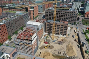 Shanghaiallee Hamburg denkmalgeschützter umbau